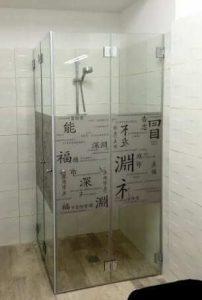 """מקלחונים פינתיים - ד""""ר זכוכית"""