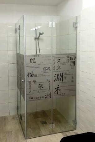 עיצוב מקלחונים